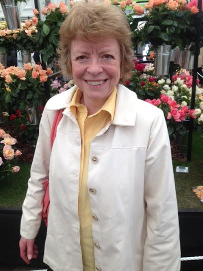 Me at the Chelsea Flower Show